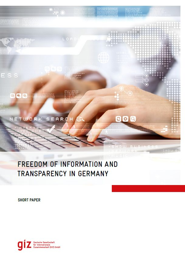 Freedom of Information and Transparency in Germany